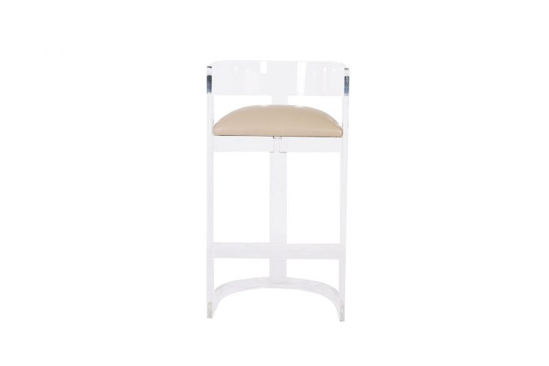 House Haven Tumbler Perspex Bar Stool