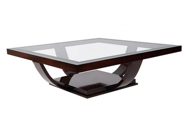 House Haven Side Tables 0016 Art Noveau Square Coffee Table