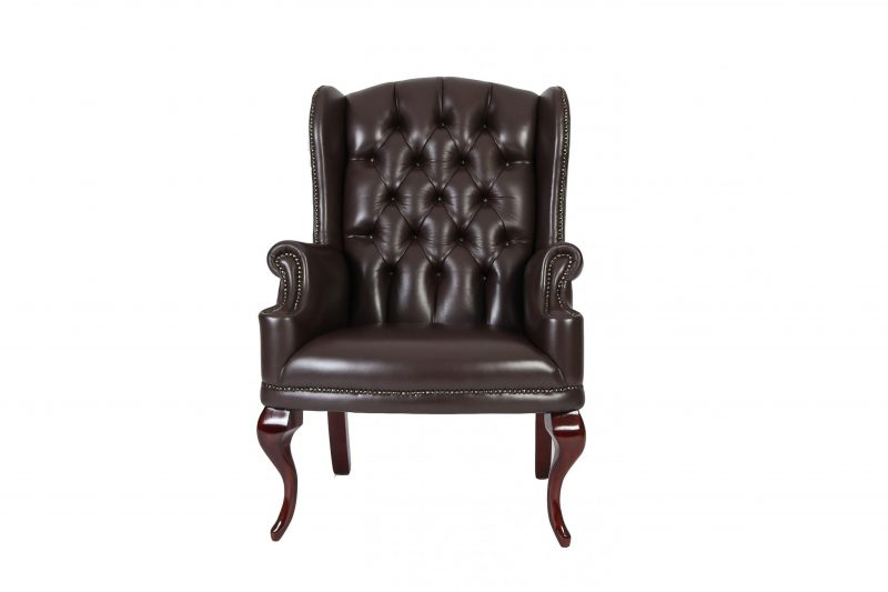 Cigar Wingback Chair