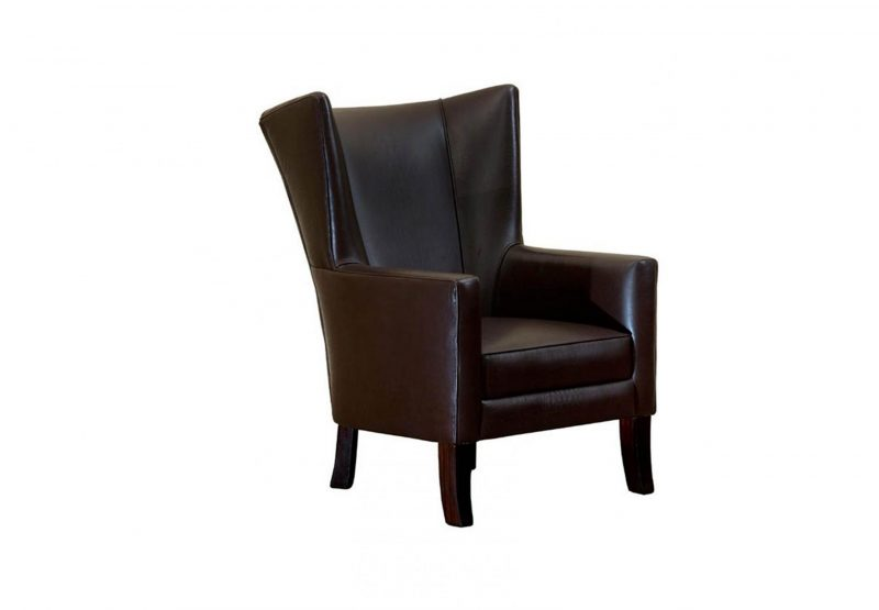 Arch Wingback Occasional Chair